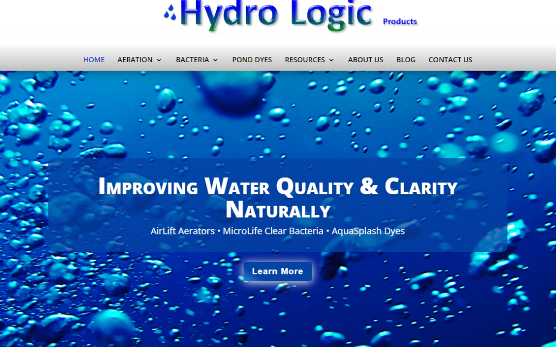 Hydro Logic launches new website for 2019!