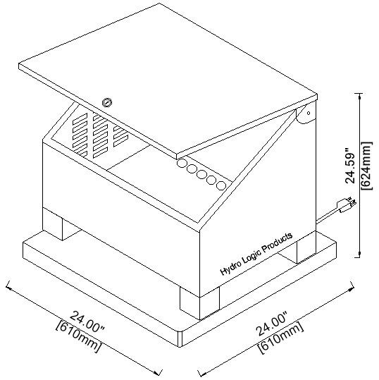 Pond Aerator Cabinet